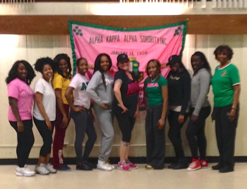 Alpha Kappa Alpha Sorority Hofstra University 2.25.13